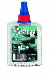 BILE PLASTIC COMBAT ZONE( 800 BUC/STICLA ) / 0.12 GR